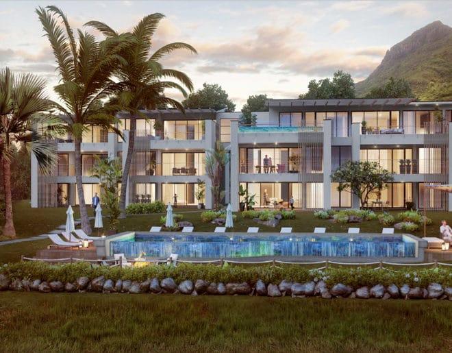Appartement Luxe Rivière Noire Ile Maurice