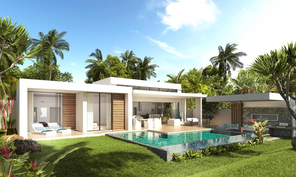 Villa de luxe azuri golf villas immobilier ile maurice for Annuler offre achat maison