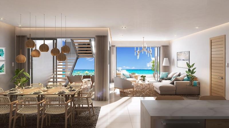 Ocean's Garden 2 - Luxury apartment with pool in Flic en Flac 1