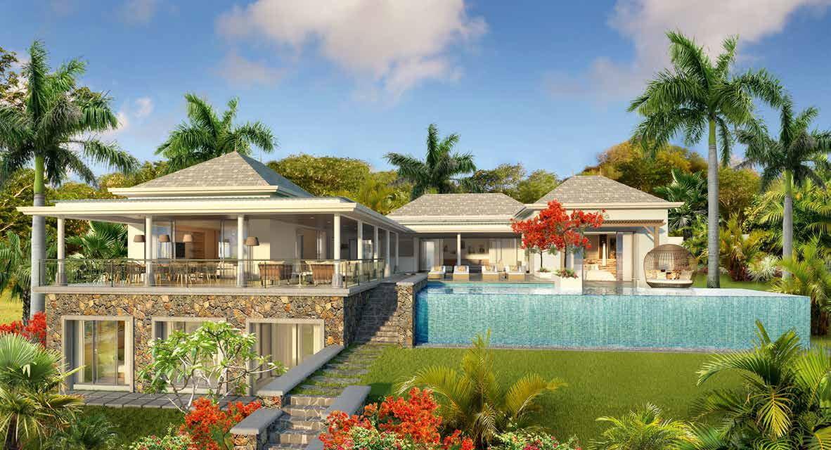 Anbalaba appartement vue Baie du Cap immobilier ile maurice