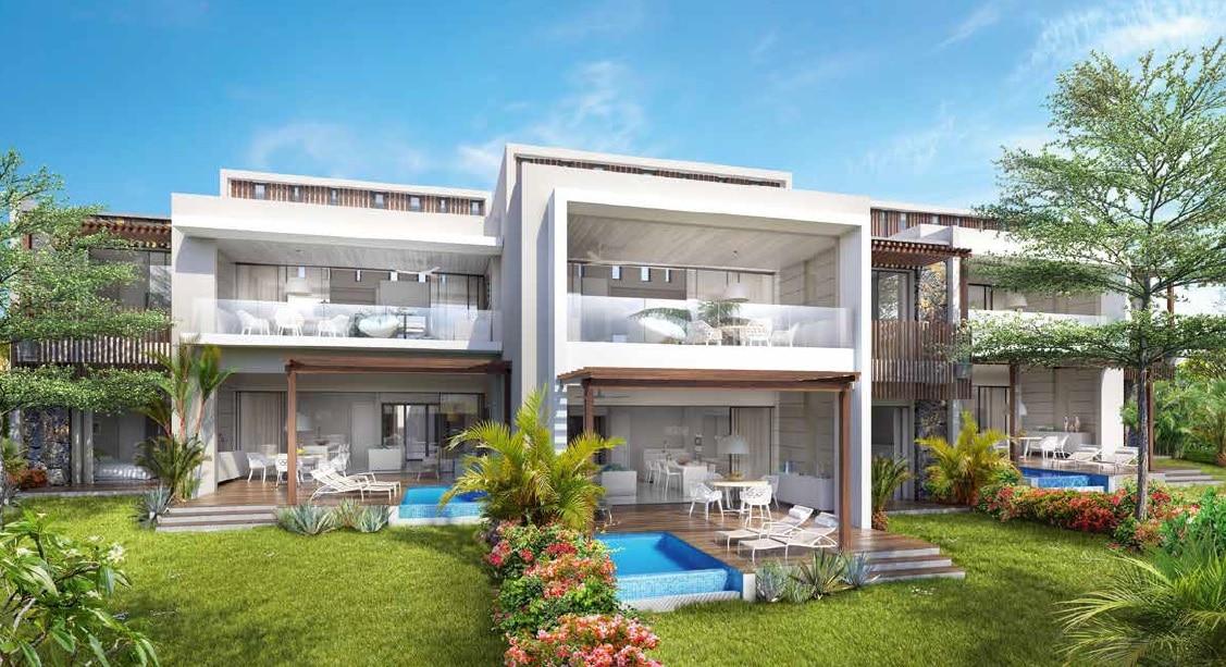 Appartement de luxe baie du cap immobilier de luxe ile for Jardin immobilier