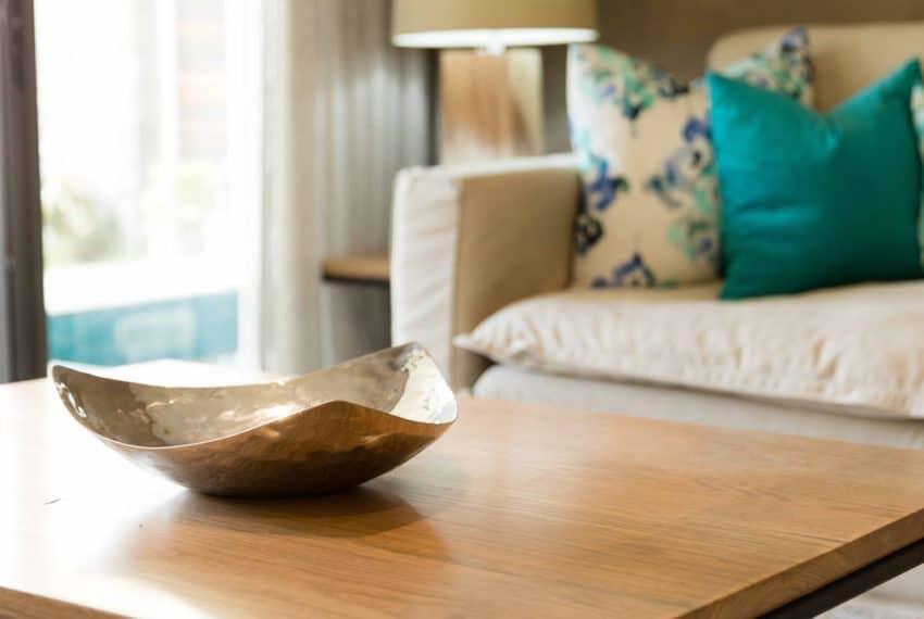 Turnkey apartment Living room 1 - (c) La Balise Marina
