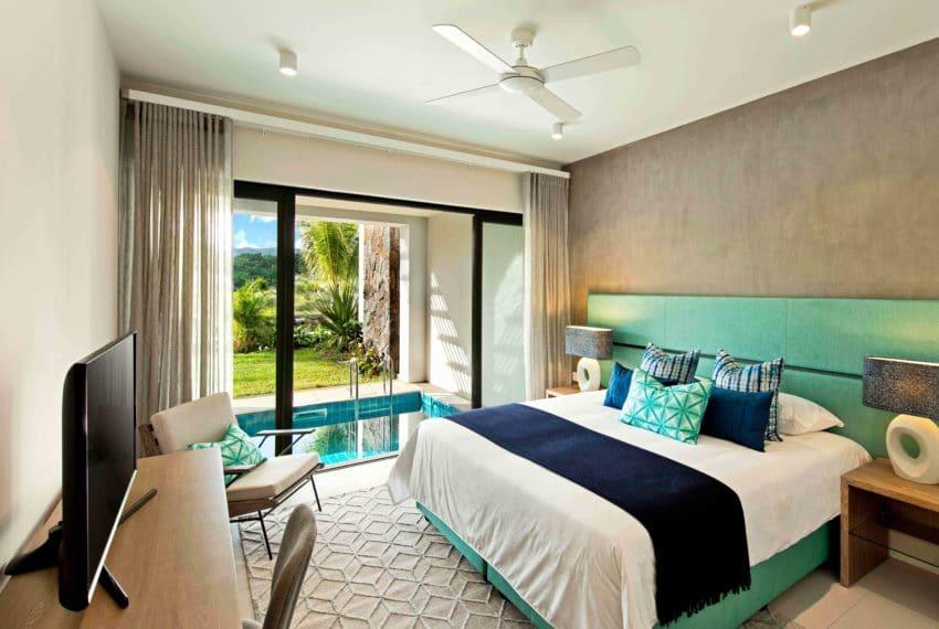 Turnkey apartment Master bedroom - (c) La Balise Marina