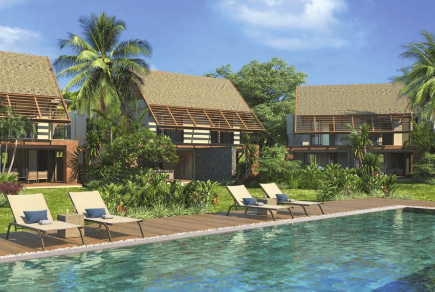Duplex piscine privée Pointe d'Esny Le Village Ile Maurice