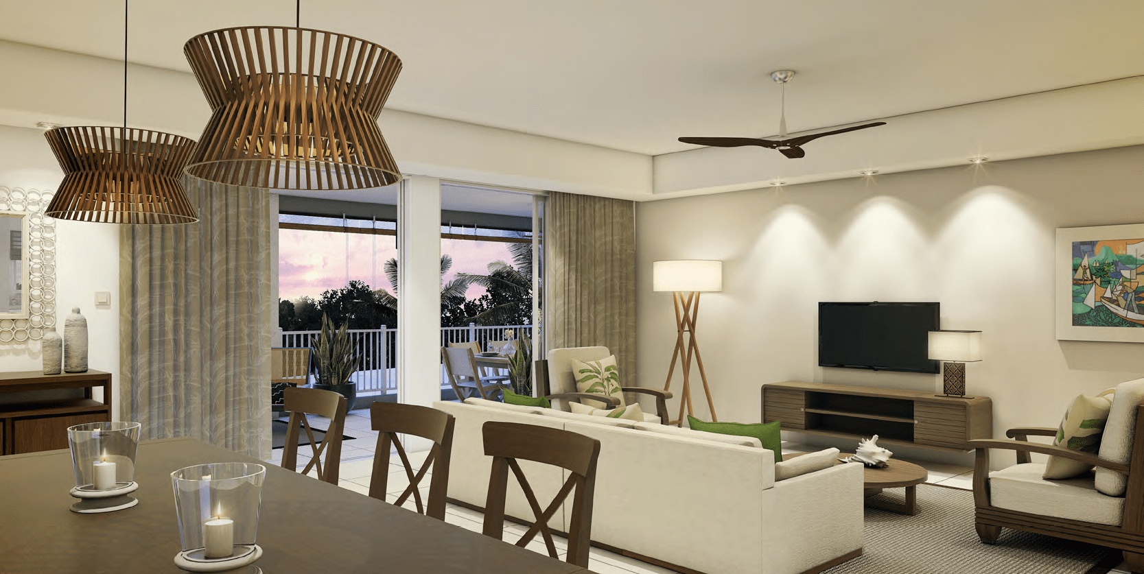 Luxury Penthouse of 3 Rooms For Sale │ Ki Résidence Mauritius