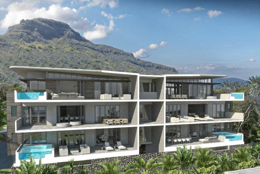 Appartement de luxe Manta Cove Tamarin Ile Maurice