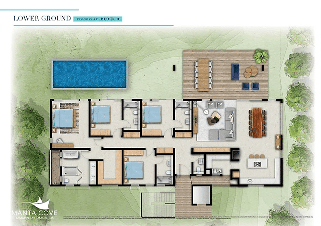 plan appartement luxe