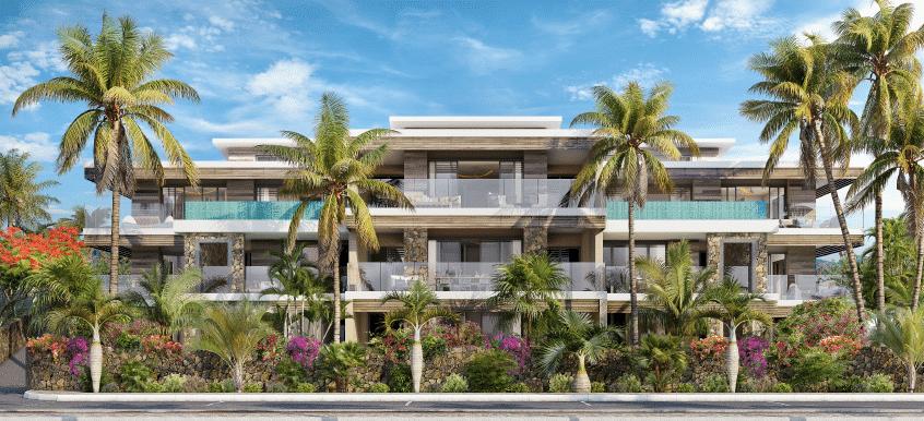 les jardins d'athena prestigieux appartement de luxe ile maurice tamarin cote ouest