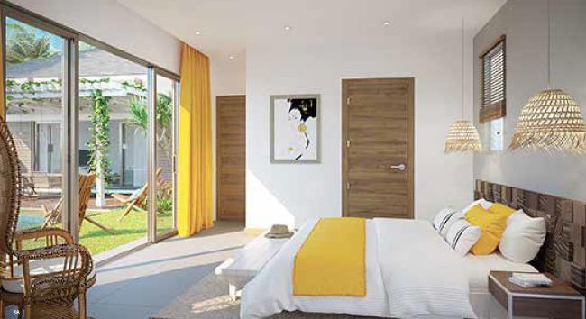 master bedroom domaine de mahe