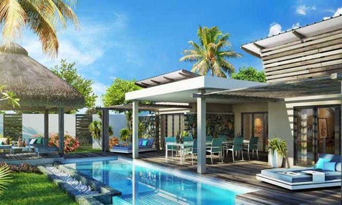 maison avec veranda et piscine ile maurice