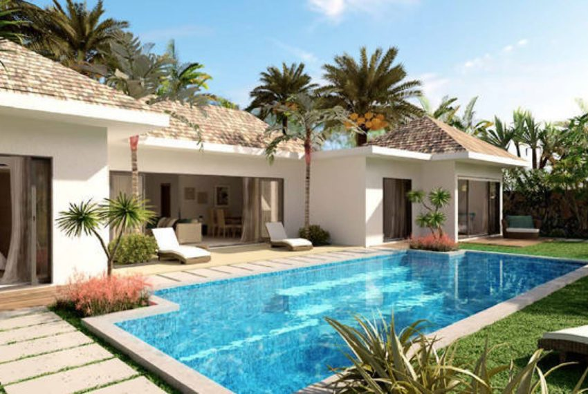 Bien immobilier avec piscine et jardin lle Maurice