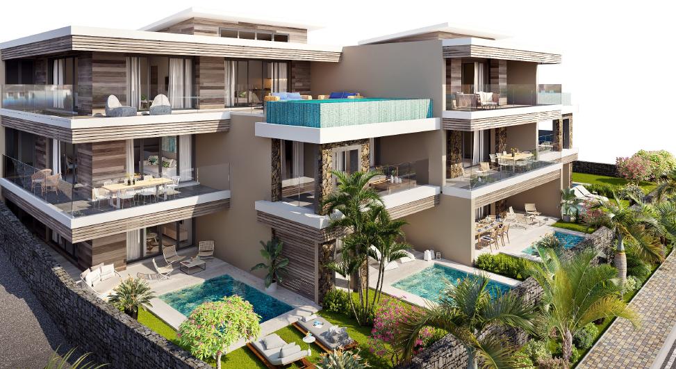 Vue du project immobilier Jardin Athena