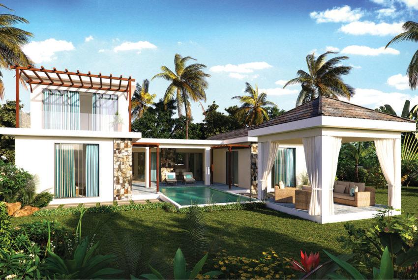 une maison à ile maurice