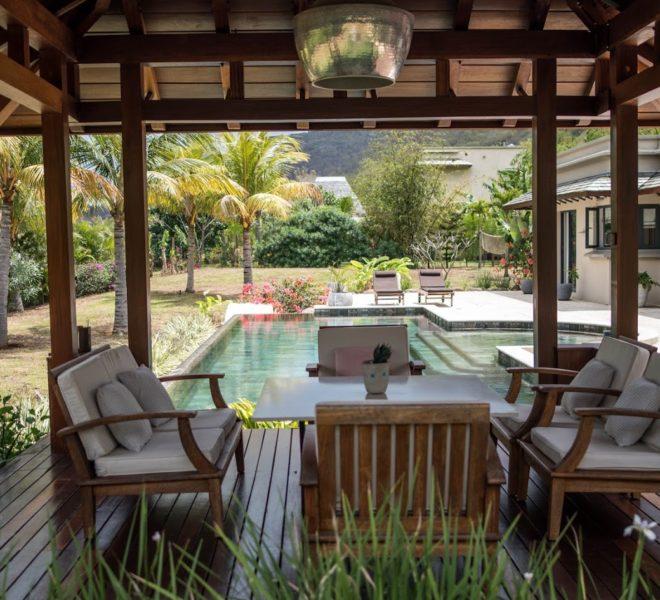Matala villa de luxe prestigieuse domaine ile maurice riviere noire