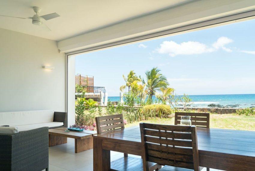 magnifique appartement sublime jolie a tamarin ile maurice pieds dans l'eau vue sur mer