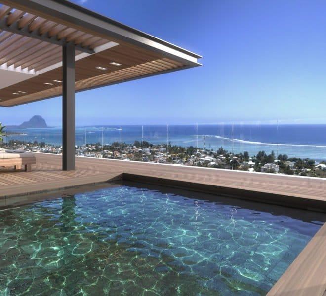 Penthouse de luxe Legend Hill Ile Maurice
