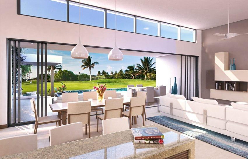Golf View Villas - Living to terrace