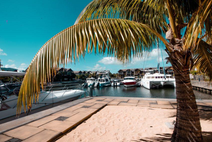 Appartement Esture Ile Maurice avec ponton bateau