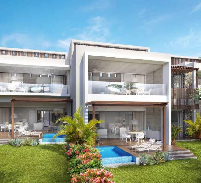 Anbalaba appartement vue Baie du Cap immobilier ile maurice
