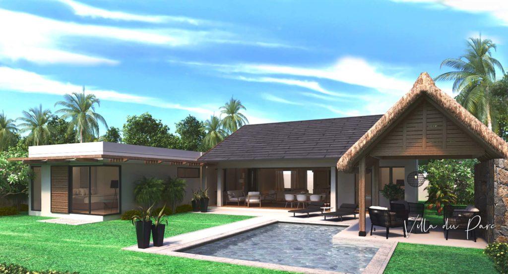 Villa du parc - Cap Marina - investir a Ile Maurice
