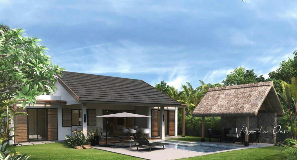 Villa du parc - piscine - Cap Marina - immobilier Ile Maurice