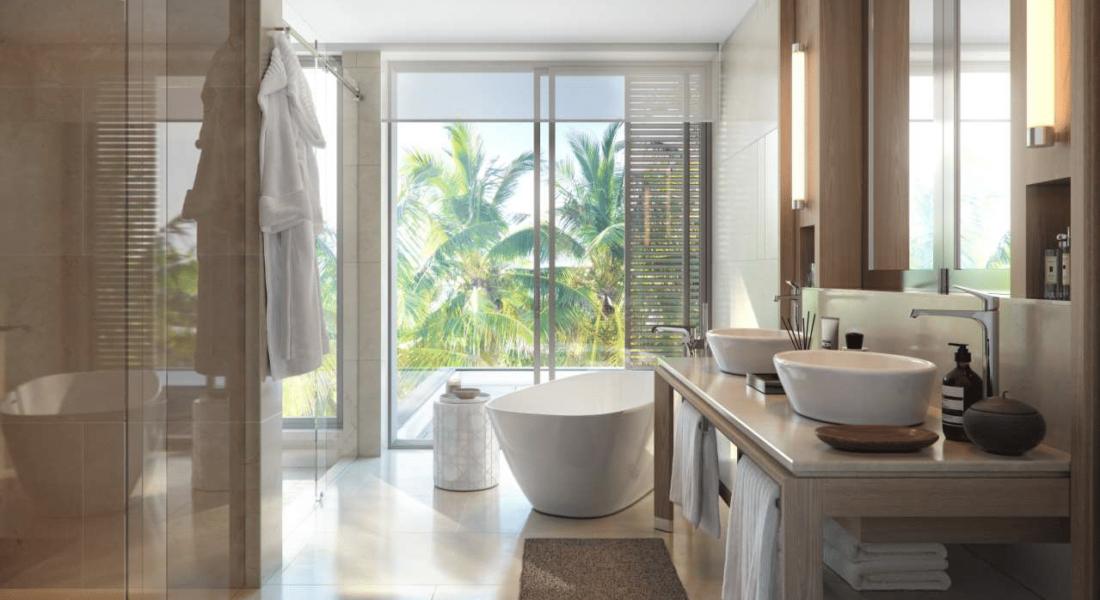 salle de bain - achat villa ile maurice