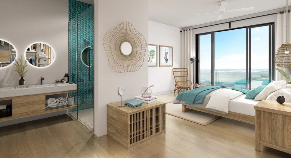 Chambre luxe casa alegria - achat villa ile maurice