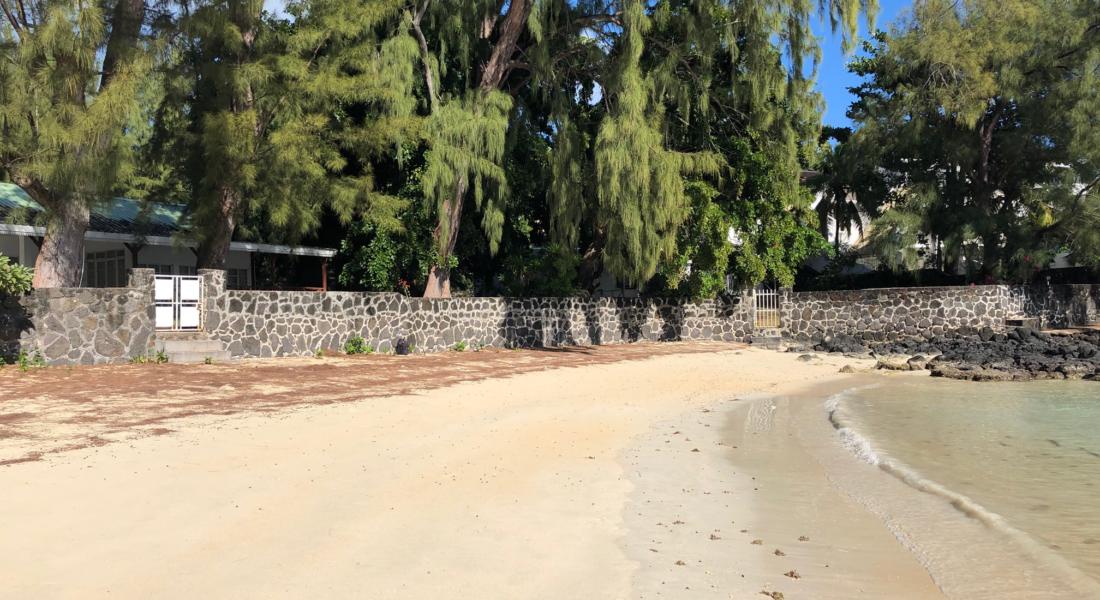 Péreybère,plage - immobilier ile maurice