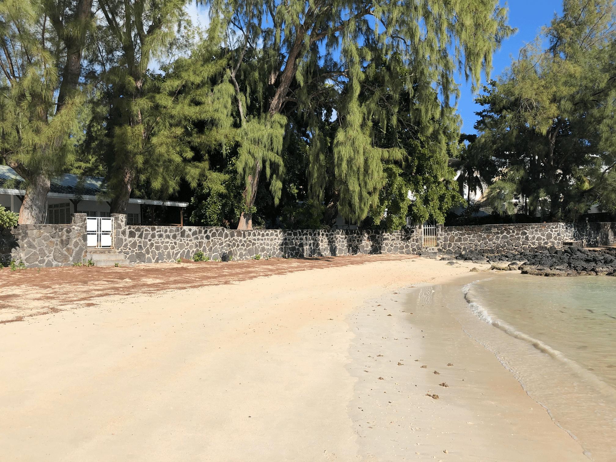 Péreybère plage - immobilier ile maurice