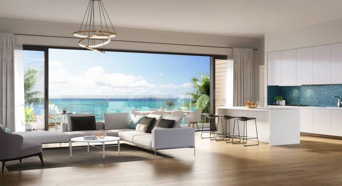 Salon casa alegria - achat appartement ile maurice